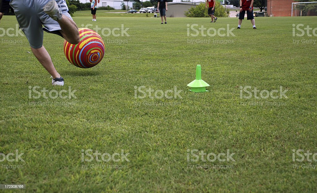 Kickball Classic stock photo