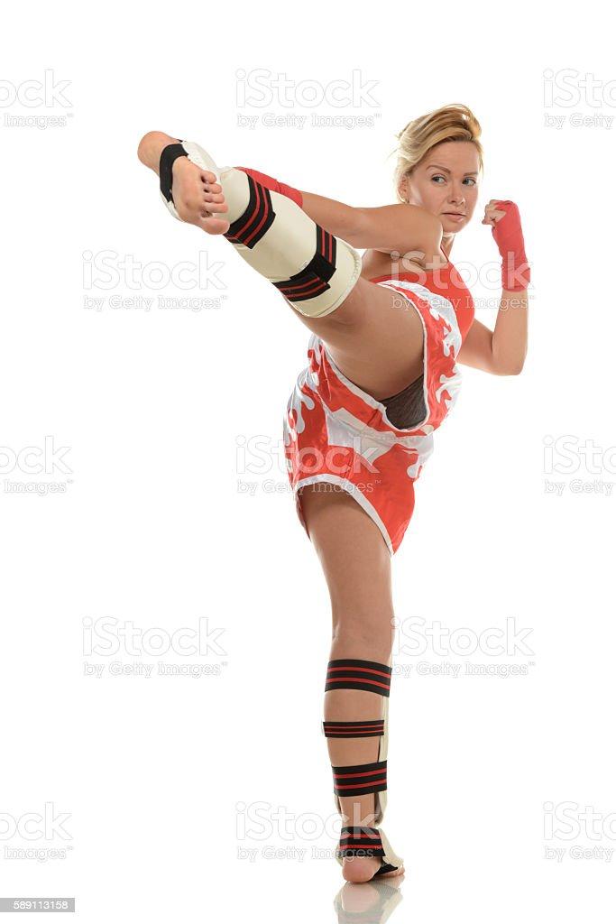 Kickboxing Activity stock photo