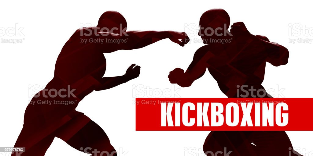 Kickboxing stock photo
