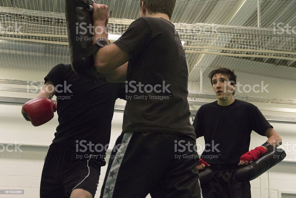 Kickboxing Training (3) royalty-free stock photo