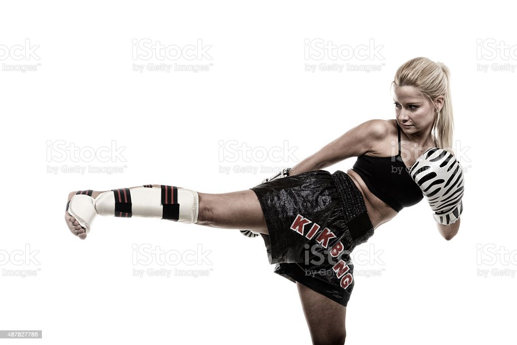 Kickfit stock photo