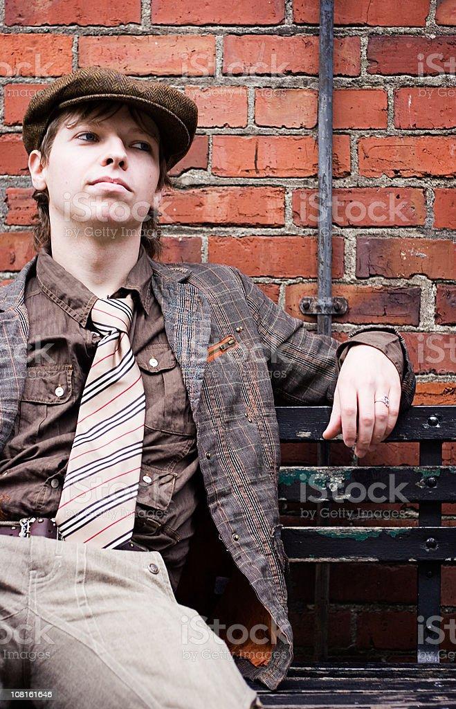 Kicking Back stock photo