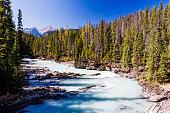 Kicking Horse River, Yoho National Park, Alberta, Canada