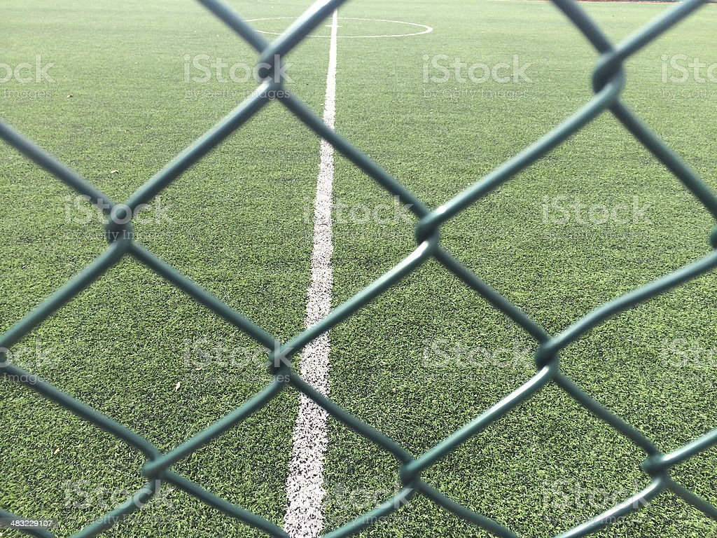 kickoff sport concept stock photo
