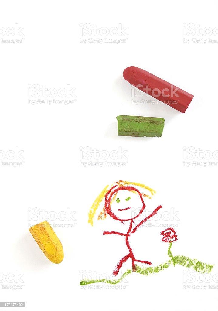 Kid Art stock photo