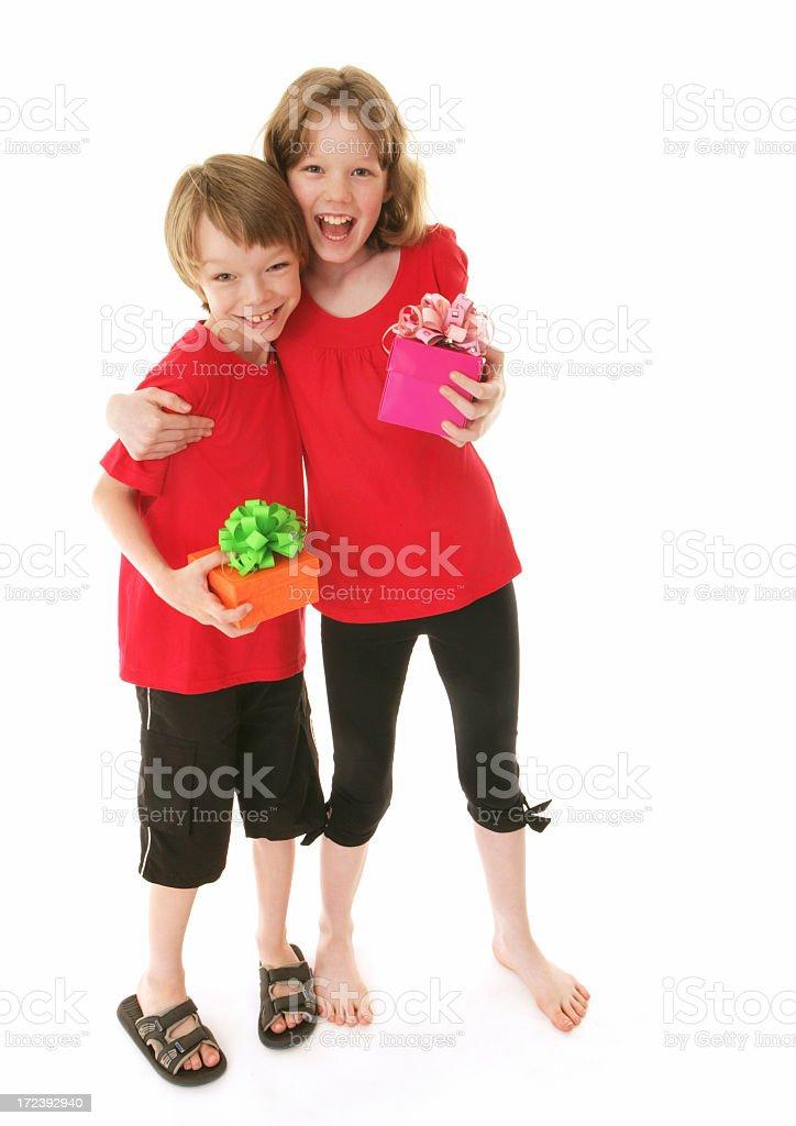 Kid Celebration royalty-free stock photo