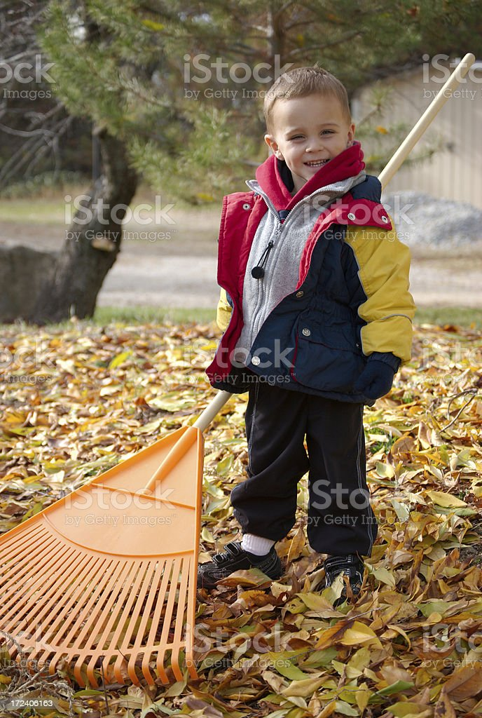 Kid Earning an Allowance royalty-free stock photo