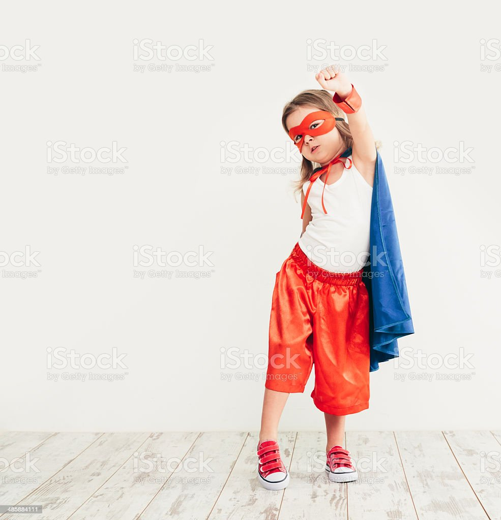 Kid portrait stock photo