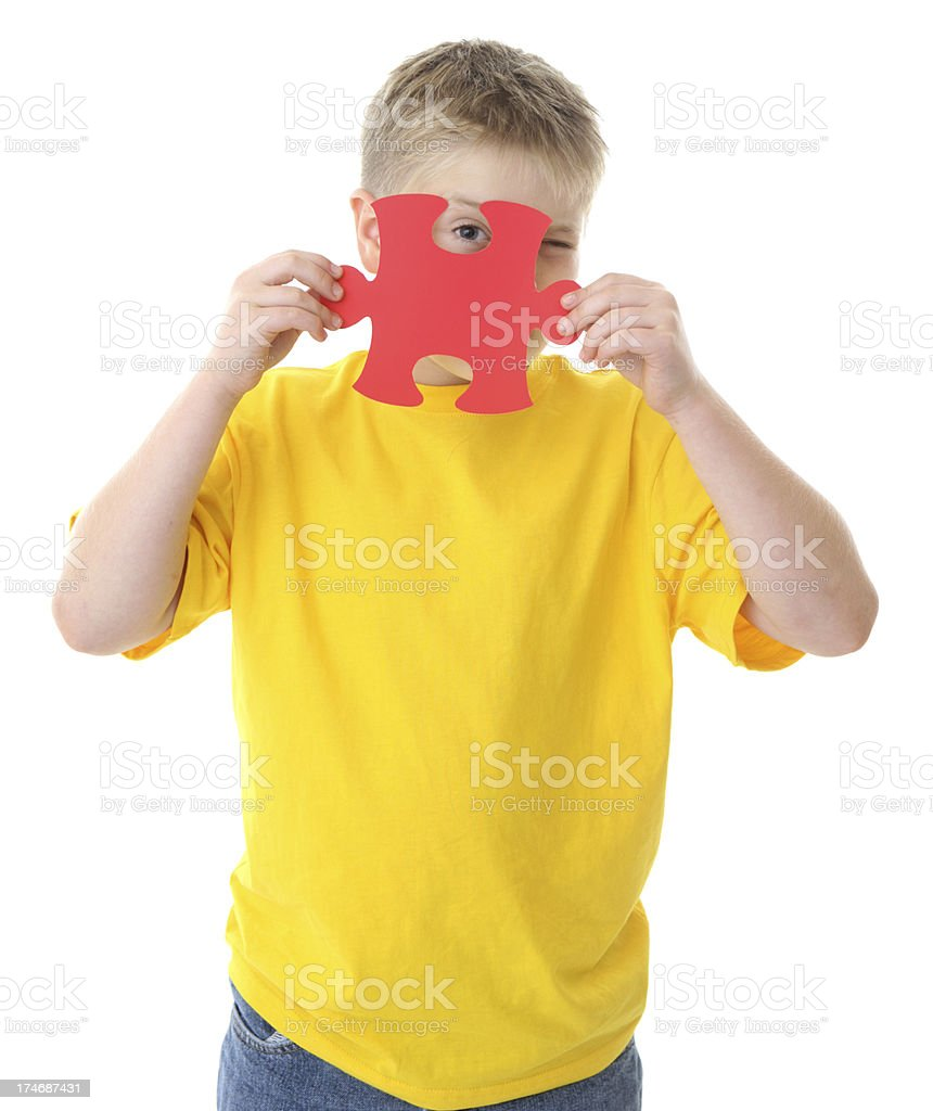 Kid Problems Solved royalty-free stock photo