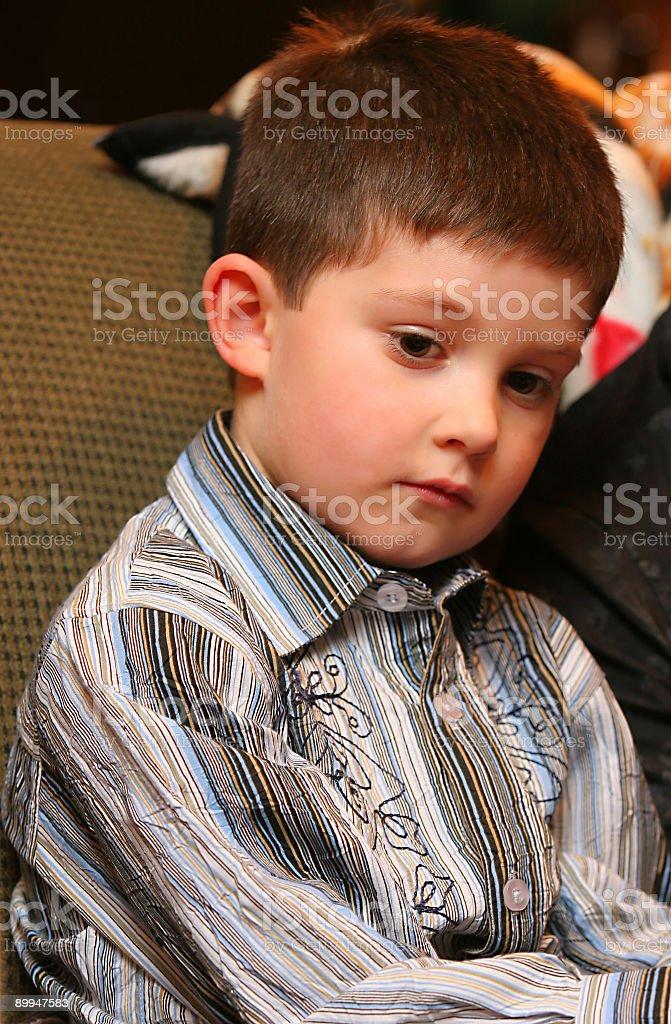 Kid Reflection stock photo