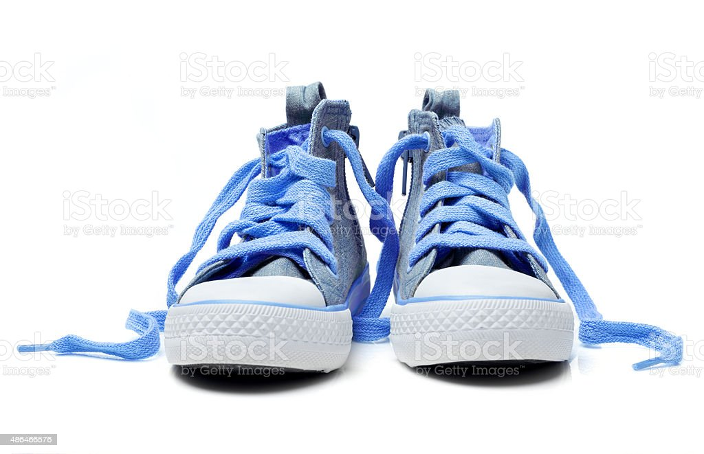 Kid shoes stock photo