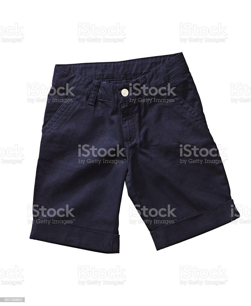 kid shorts stock photo