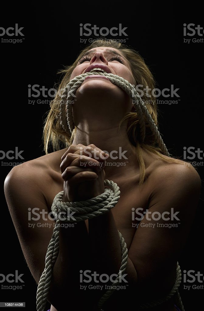 Kidnapped stock photo