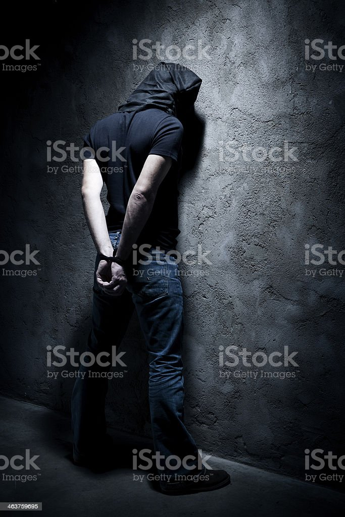 Kidnapping stock photo