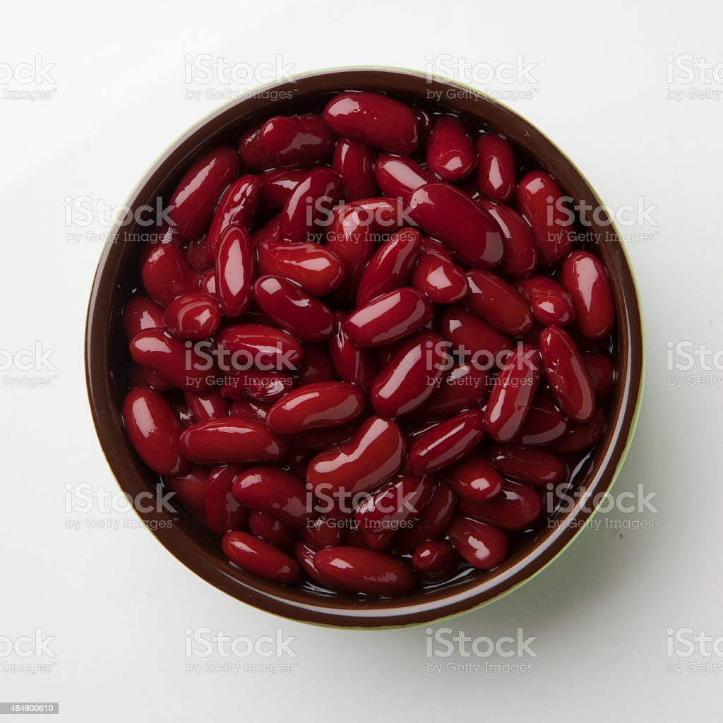 Kidney Bean bowl stock photo