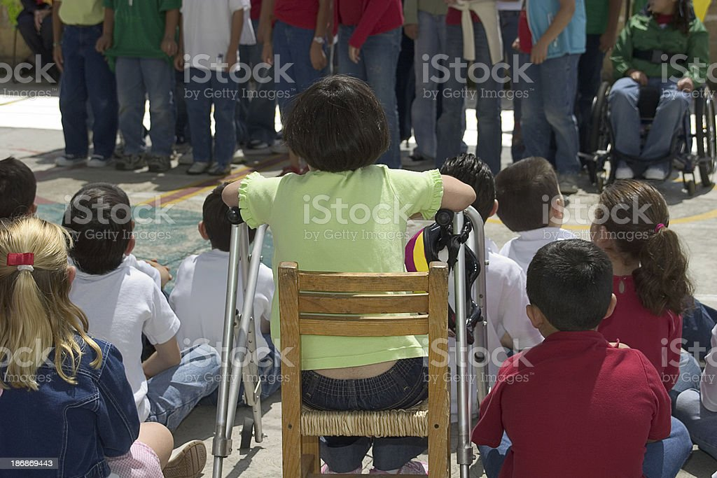 kids at school royalty-free stock photo
