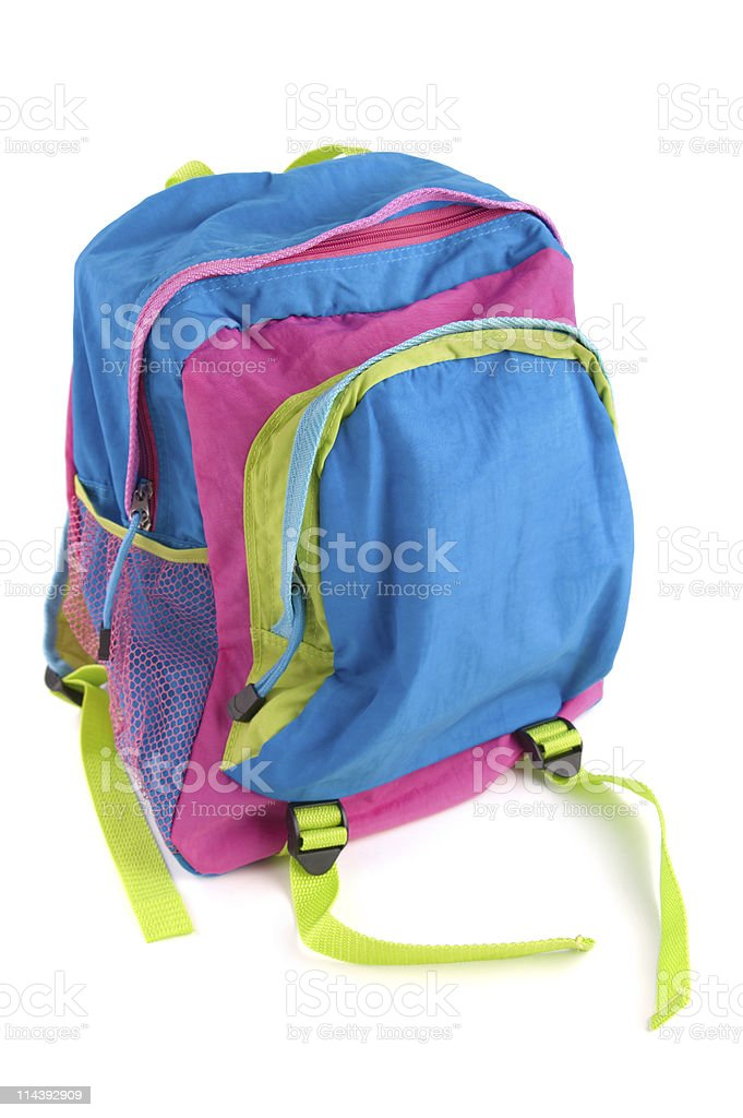 Kid's Backpack stock photo