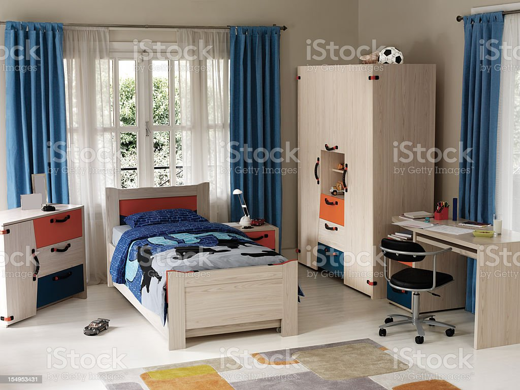 Kid's Bedroom stock photo