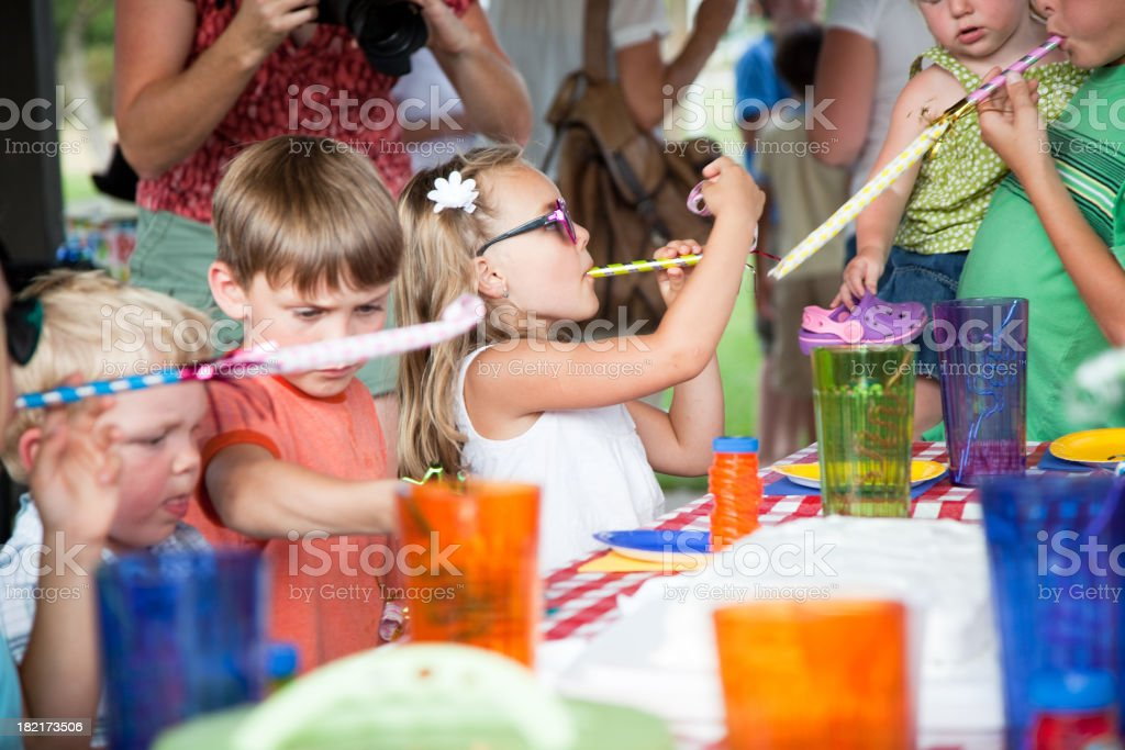 Kids Birthday Party royalty-free stock photo
