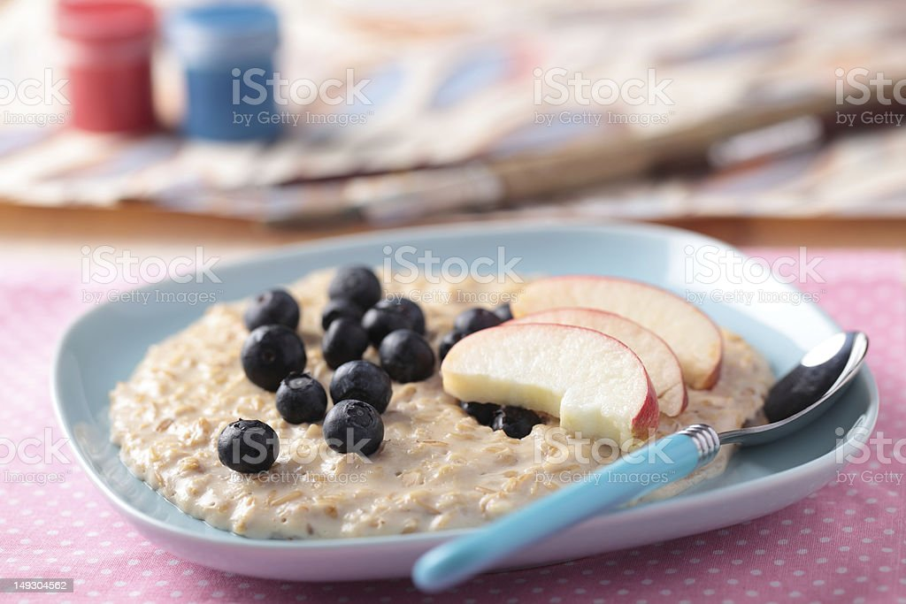 Kids breakfast royalty-free stock photo