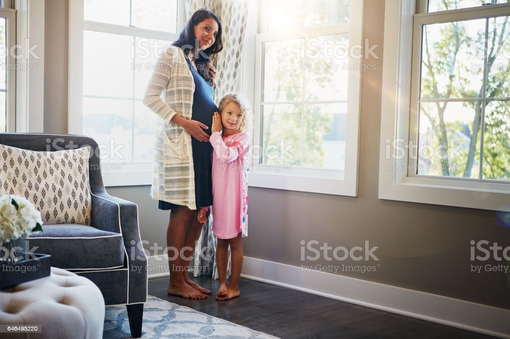 Kids bring so much light into our lives stock photo