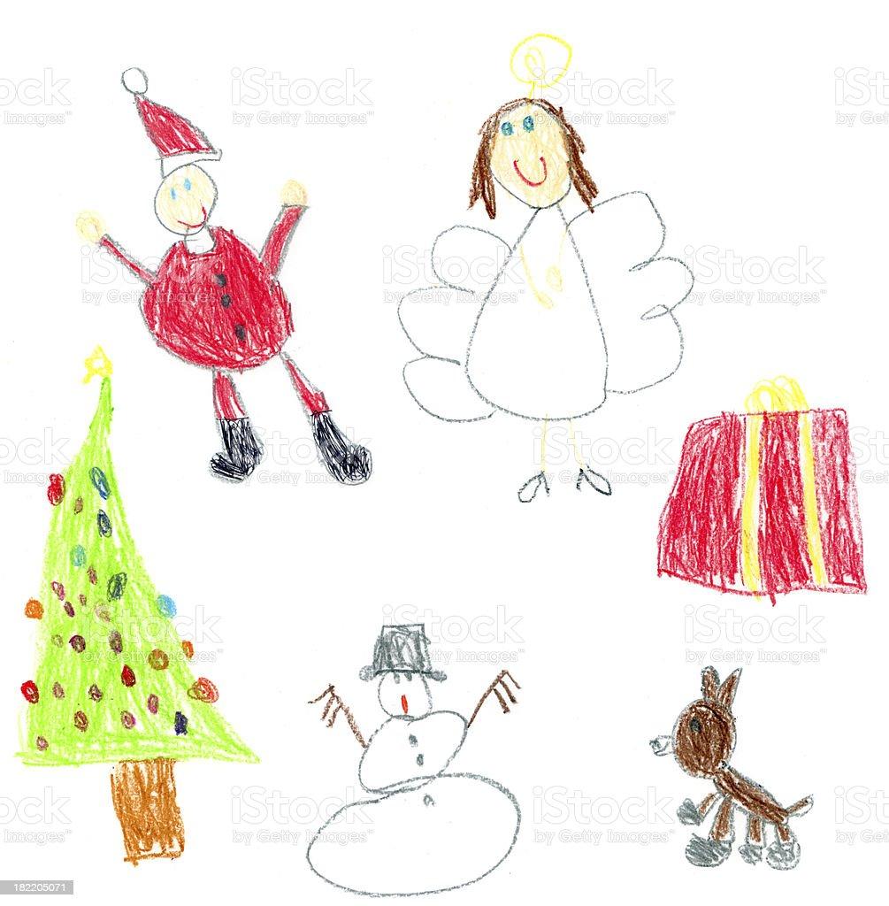 Kid's Christmas stock photo