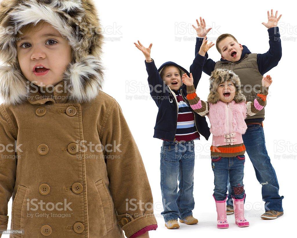 Kids fashion royalty-free stock photo