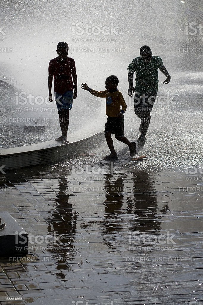 Kids happiness royalty-free stock photo