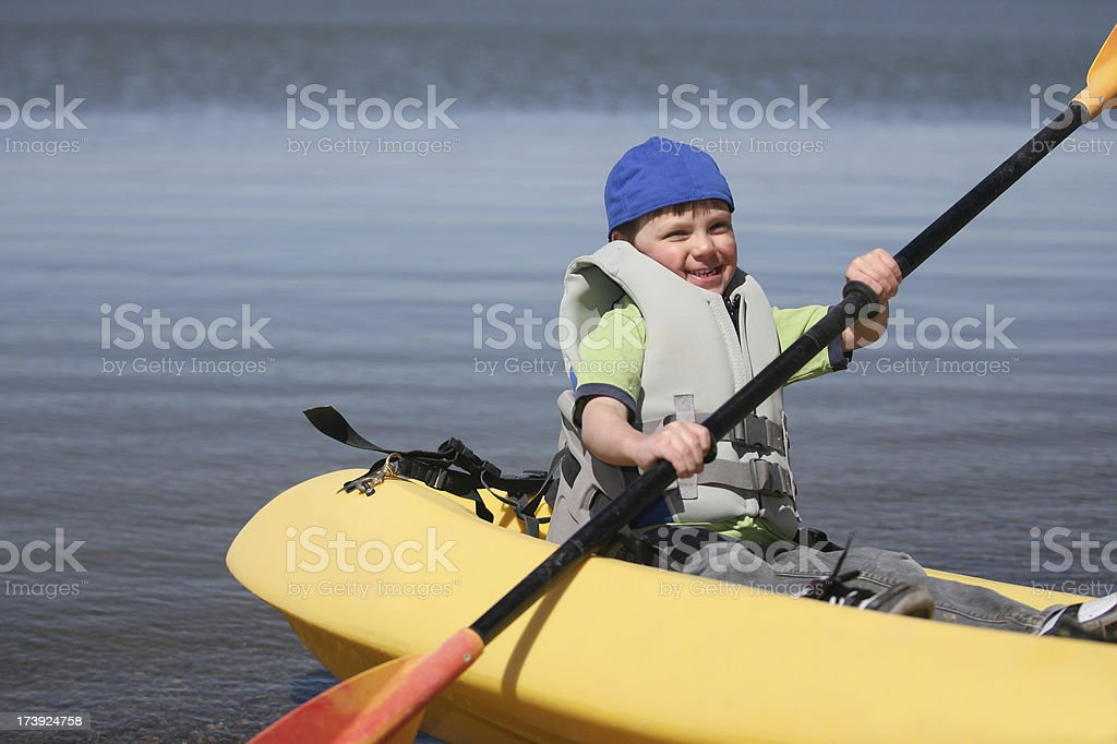 Kids outdoors royalty-free stock photo