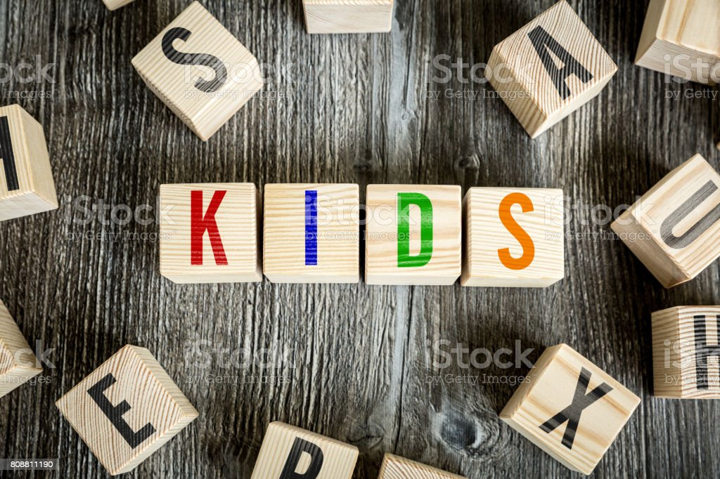 Kids stock photo