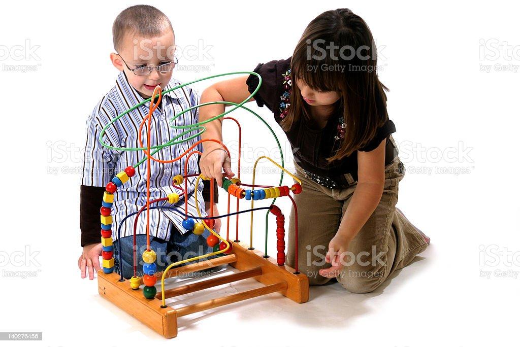 kids playing 1 royalty-free stock photo