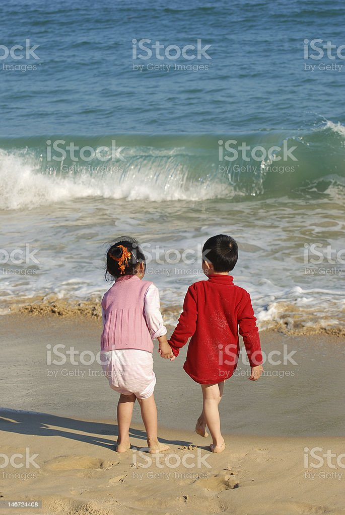 Kids Playing stock photo