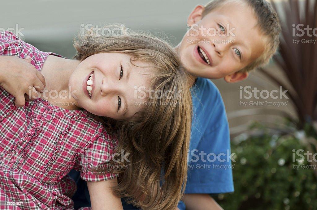 Kids Playing royalty-free stock photo
