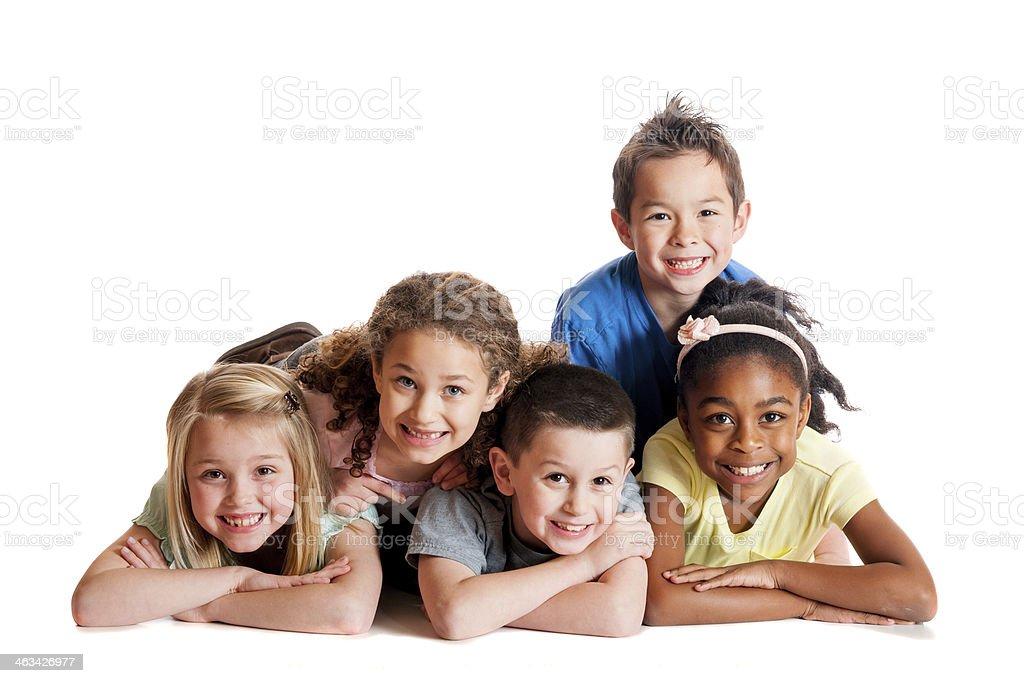 Kids portrait stock photo