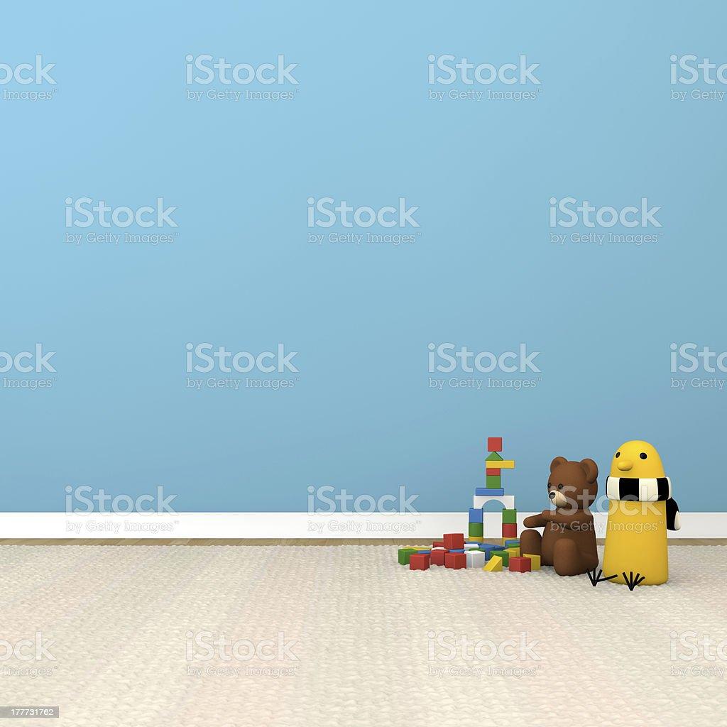 kids room stock photo