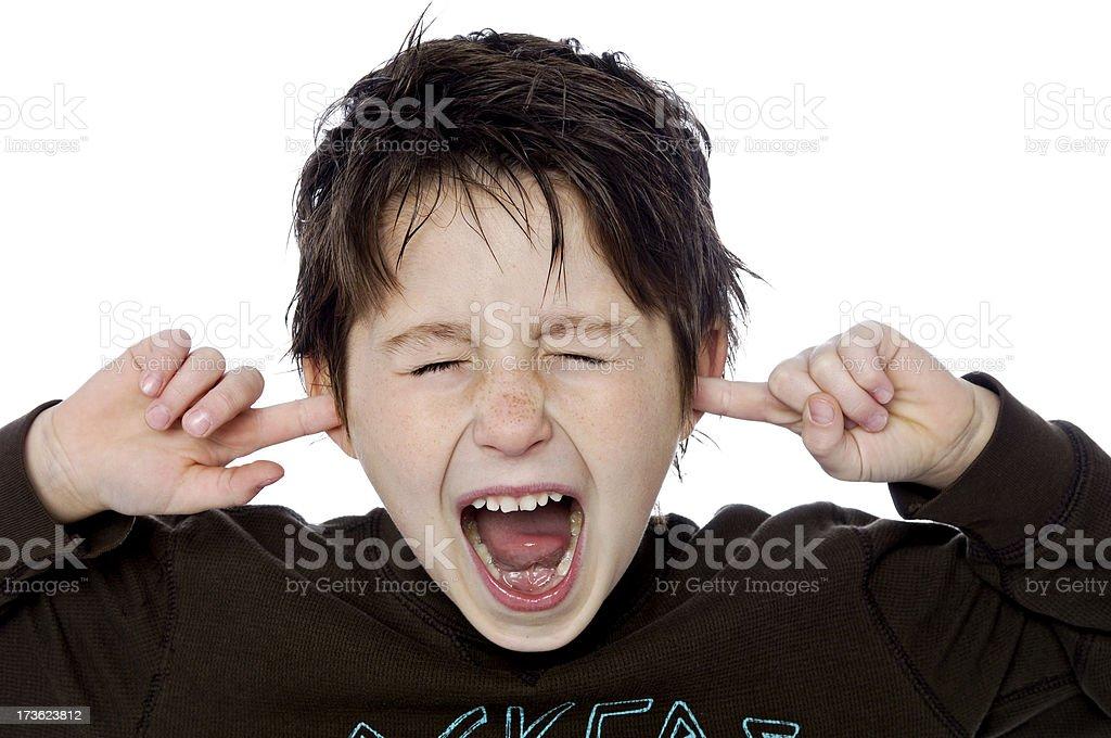 Kids - Silly little boy (XL) royalty-free stock photo