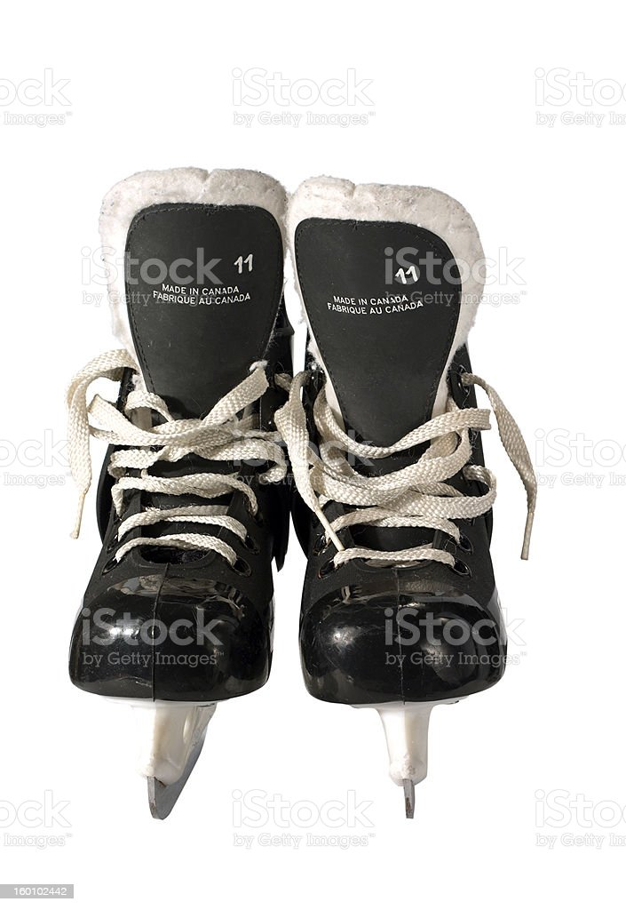kid's skate with clipping path royalty-free stock photo