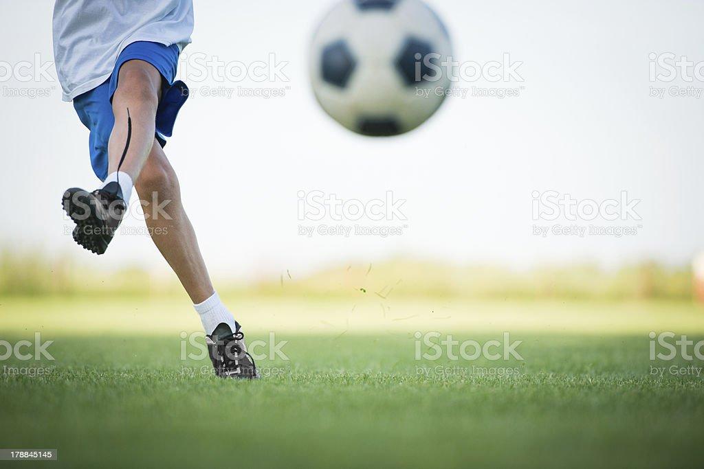 kids soccer royalty-free stock photo
