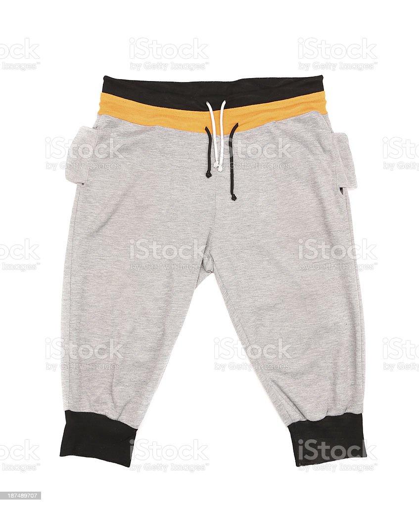 Kids sport clothing stock photo