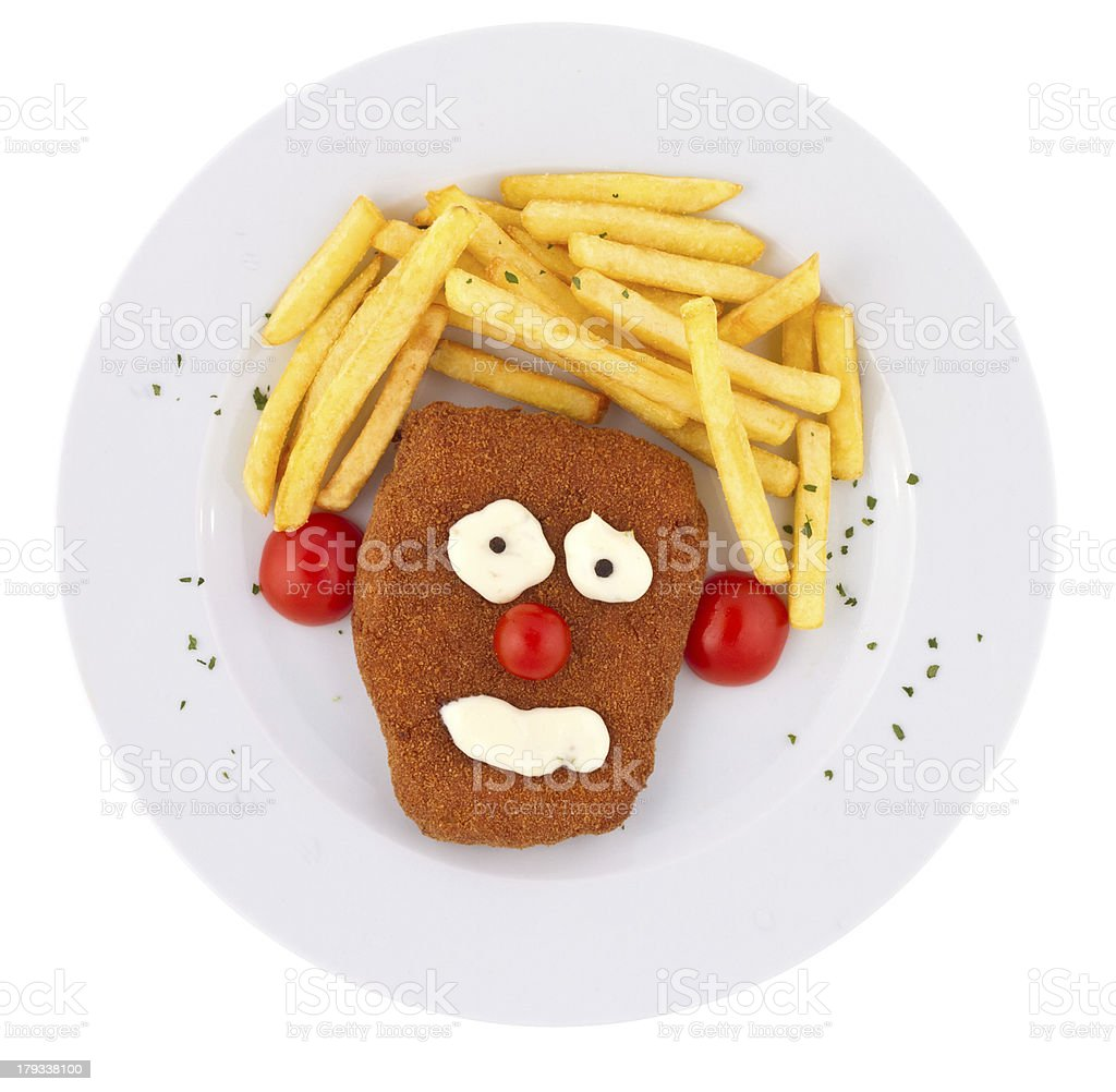 Kid`s Veal royalty-free stock photo