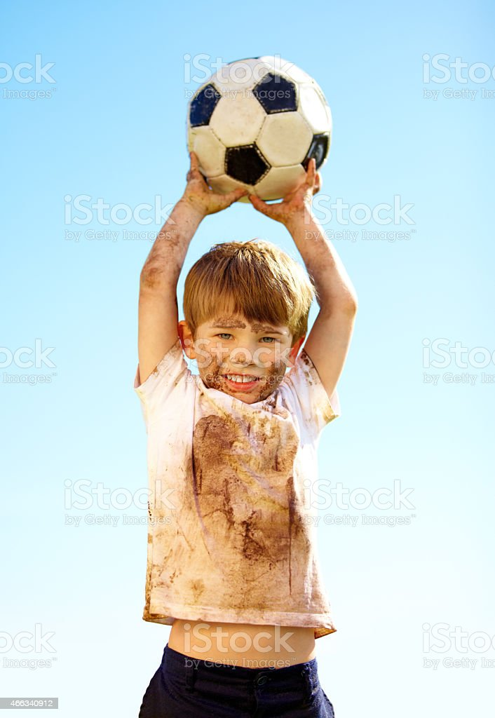 Kids will be kids stock photo