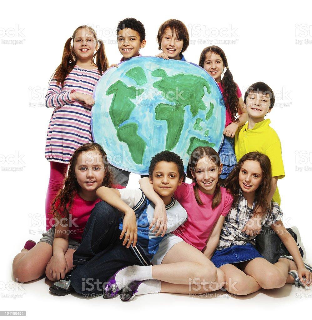 Kid's world royalty-free stock photo
