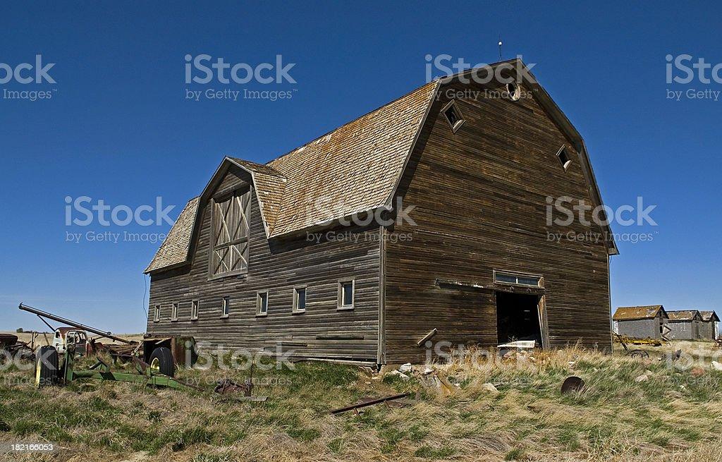 Kieth's Barn royalty-free stock photo
