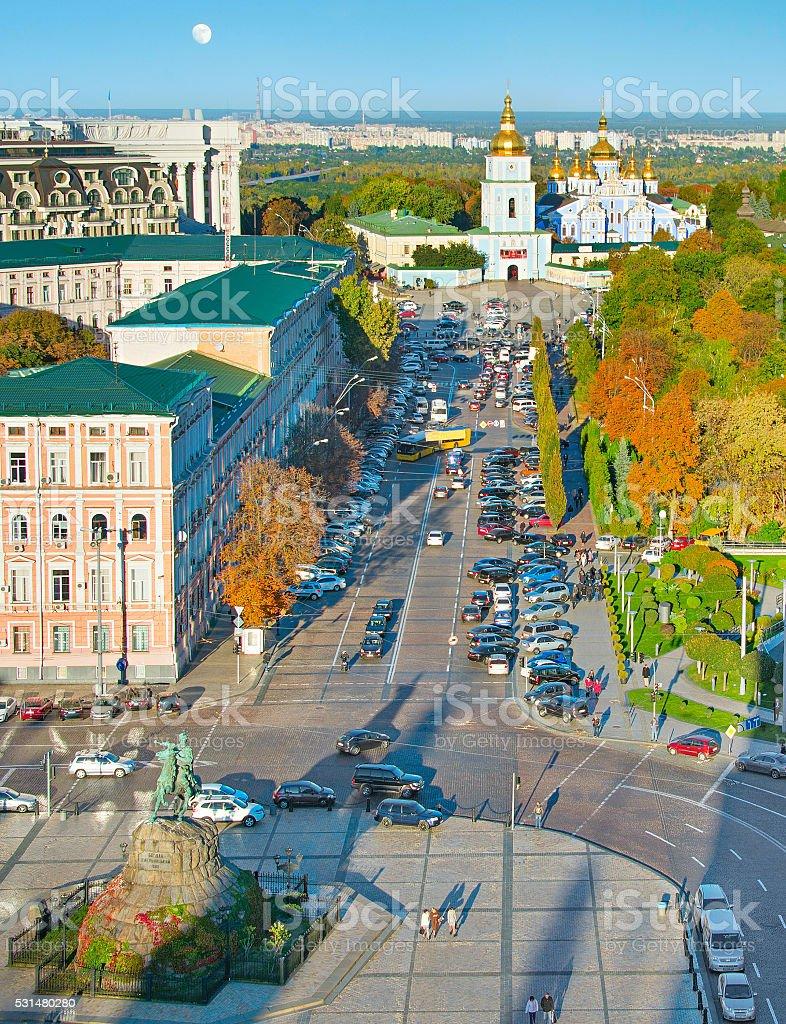 Kiev Old Town, Ukraine stock photo