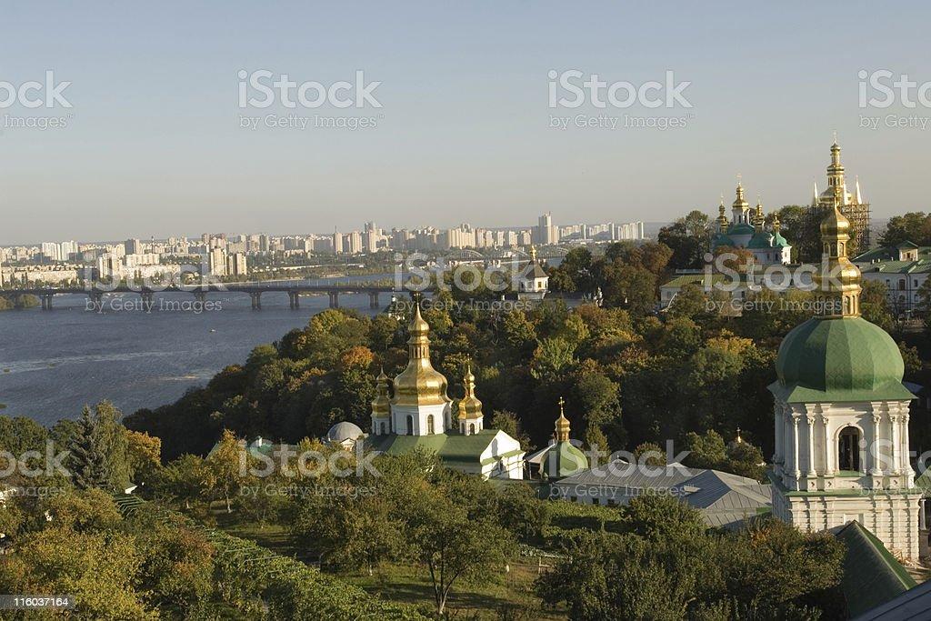Kiev panorama royalty-free stock photo