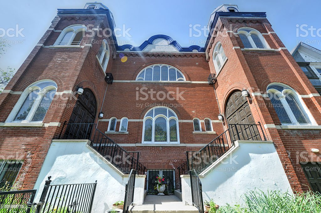 Kiever Synagogue, Toronto stock photo