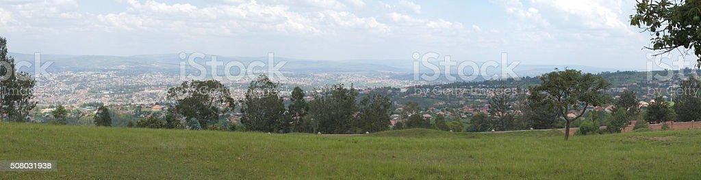Kigali city - Rwanda stock photo
