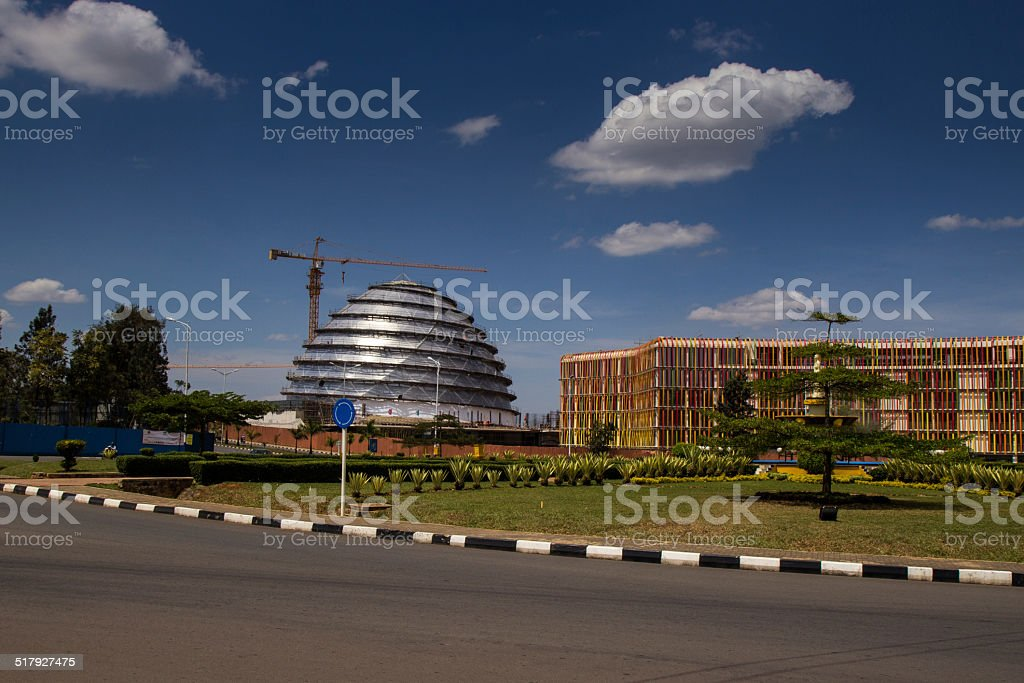 Kigali Convention Centre stock photo