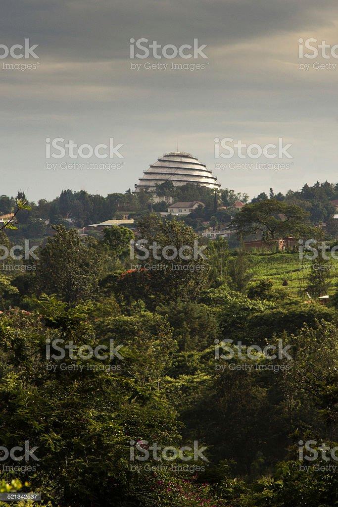 Kigali Convention Centre stock photo