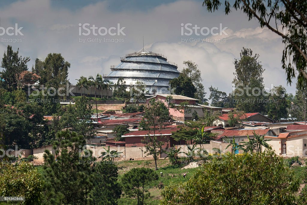 Kigali Housing and Convention Centre stock photo
